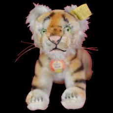 Beautiful 1960s Running Steiff Tiger All ID