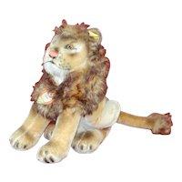 9 Inch 1950s Sitting Steiff Leo the Lion All ID
