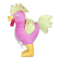 GUND MFG. Co. J Swedlin INC. Pychedelic Rooster Stuffed Toy ID