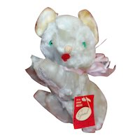 """Gund Tumbling Musical Toy Cat Wind-up Tail """"Rock -A-By- Baby"""" Lullaby"""