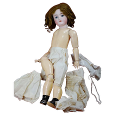24 inch attic Bisque Doll Queen Louis GERMANY Original