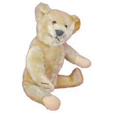 Antique  11 Inch American Jointed Teddy Bear