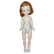 Wonderful Betsy McCall doll all Original Shoes and Underwear 1950s
