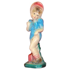 Young naughty Coquette Carnival Chalk Pin-up Girl
