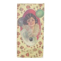 """Beautiful Pin-up Girl Art Deco """"Lagges"""" Chocolate Candy Box"""