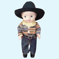 Cowboy Buddy Lee Advertising Doll Lee Jeans
