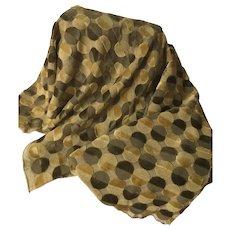 Vintage Modernist Designer Fabric