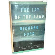 "1st Edition Richard Ford ""The Lay of the Land"""