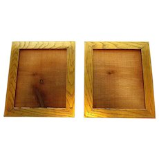 Matched Pair ANTIQUE Gilt Wood Picture Frames 1890 - 1910