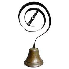 ANTIQUE 19th Century Victorian Era Bronze SERVANT BELL circa 1890