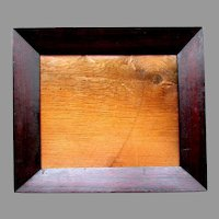 Early ANTIQUE - Hand Made - Rosewood & Pine  -Currier Style  - PICTURE FRAME circa 1840