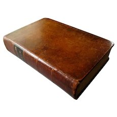 Antique Leather Bound POLYGLOTT BIBLE Robinson, Pratt & Co. 1841