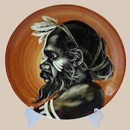 Martin Boyd Aboriginal Plate