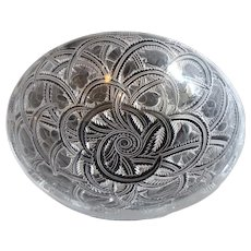 Lalique Frosted Pinsons Bowl