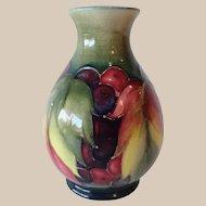Moorcroft Leaf and Berry Vase