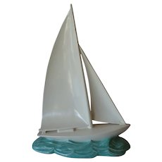 Poole Pottery Racing Yacht