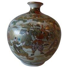 Meiji Period Satsuma Vase