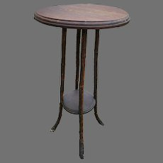 Root Foot Bamboo Plant Stand Small Table