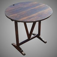 French Country Folding Wine Tasting Table