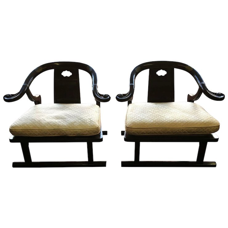 Charmant Baker Furniture Far East Collection Arm Chairs #2510 By Michael Taylor