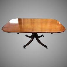 English Regency Classical Tilt Top Breakfast or Dining Table