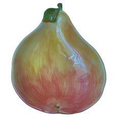Lg G.B.C. Italy Ceramic Pear Shaped Serving Dish/Bowl