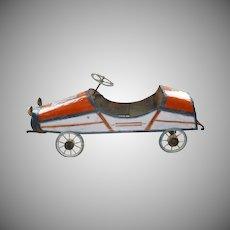 Unique Handmade Folk Art Pedal Car