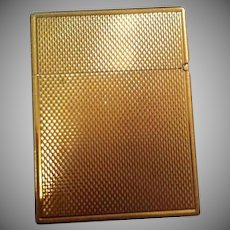 14K Gold Lighter Signed B&A