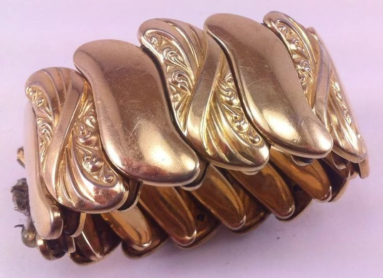 Vintage bugbee and niles co expansion stretch bracelet for Bugbee and niles jewelry