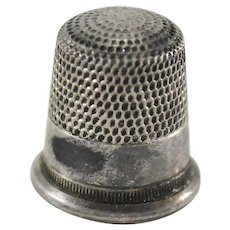 Sterling Silver Thimble Size 8