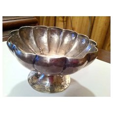 Arts and Crafts Franklin Porter Hand Hammered Footed Bowl