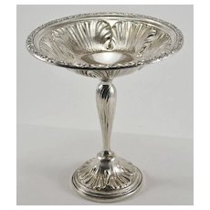 Frank Whiting Sterling Silver Tiger Lily Compote