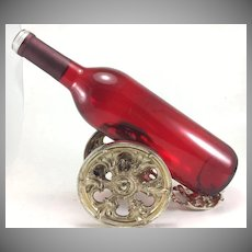 Kaser & Walter 800 Silver Bottle Cannon