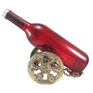 Kaser & Walter 800 Silver Bottle Cannon