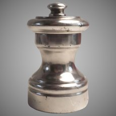 Sterling Silver Individual Pepper Mill Grinder Italy