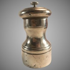 Sterling Silver Pepper Mill Grinder Italy