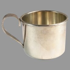 International Sterling Silver Small Baby Cup 34 Grams