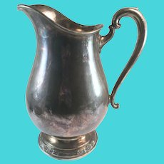 Camille Pattern by International Silver Co. Silverplate Water Pitcher