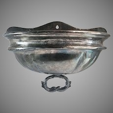 Silverplate Food Dome Cover Wall Pocket Single