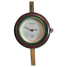 GUCCI Lady's Wristwatch Watch Working