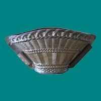 Vintage Anton Reiche Dresden Basket Chocolate Mold