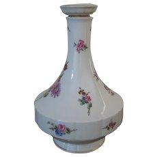 Vintage Haviland Limoges France Chantilly Pattern Porcelain Decanter With Stopper - Red Tag Sale Item