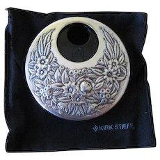 Vintage Kirk Stieff Silverplate Refillable Perfume Atomizer