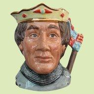 Royal Doulton Henry V Large Character Jug D 6671 Early Edition