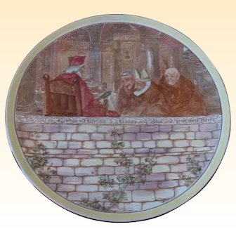 "Royal Doulton Jackdaw of Rheims Charger 15"" Diameter"