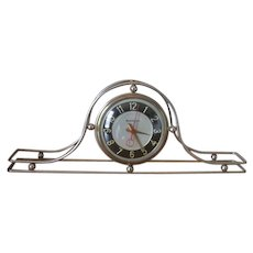 Vintage Mastercrafters Mantle Clock with Metal Tubing and Balls