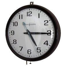Vintage General Electric Wall Clock Model 2012