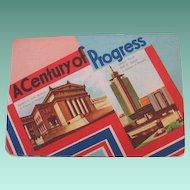 Vintage Chicago World's Fair 1933-1934 Souvenir Needle Book