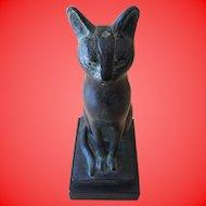 1965 Austin Productions Egyptian Cat Sculpture