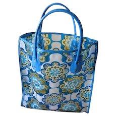 a6700263138d Vera Bradley Medium Tote Bag NIGHT OWL Retired Pattern   Glass ...
